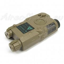 Boitier pour batterie AN/PEQ-15 Dark Earth