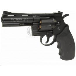 "KWC Revolver Colt Python 357 Magnum Co2 4"" noir"