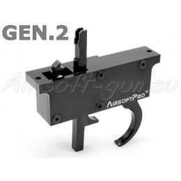 Trigger SET CNC pour L96 GEN 2 type MB01, 04,05,08,14 vue de face