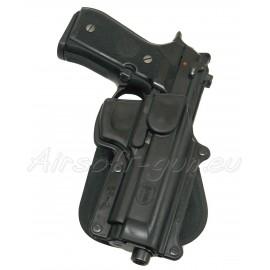 Fobus holster rigide paddle rotatif pour beretta 92F