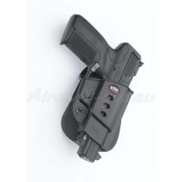 Fobus holster rigide paddle rotatif pour FN Five-Seven
