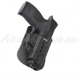 Fobus holster rigide paddle rotatif pour S&W M&P