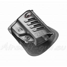 Fobus holster rigide de ceinture rotatif pour beretta PX4 vue 2