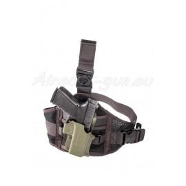 Fobus nouveau adaptateur holster de cuisse ambidextre vue droite