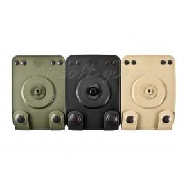 Fobus adaptateur MOLLE en 3 coloris