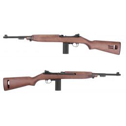 M1A1 Carbine CO2 vrai bois vue canon