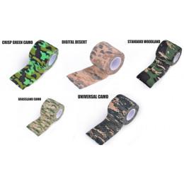 Bande de camouflage en divers coloris crisp green