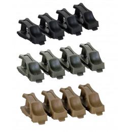 Pack de 4 Speedplate pour chargeur Hicap M4/M16 standard