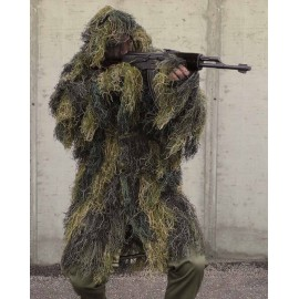 Ghillie parka anti feux woodland