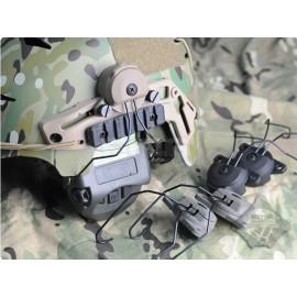 Adaptateur pour casque auditif MSA Sordin Liberator sur casque EXF BUMP en divers couleurs