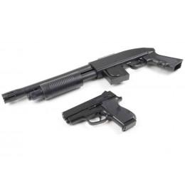 Shotgun M90 Mossberg + Pistolet CS 45 spring