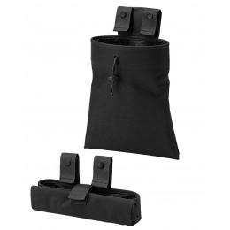 Poche porte chargeur vide large Defcon 5 en noir