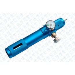 PPS chargeur de Co2 ajustable avec gauge PSI pour cartouche 12gr