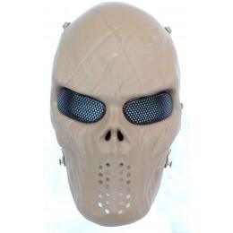 Masque tactique skull Tan