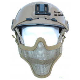 Masque de prtection faciale version 1 en Tan