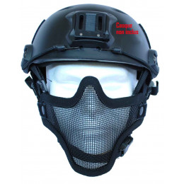 Masque de prtection faciale version 1 en Noir