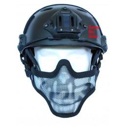 Masque de protection faciale version 1 en Skull Noir