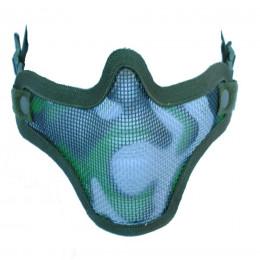 Masque de potection faciale V1 en camo woodland