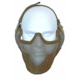 Masque de potection faciale V2 en Tan