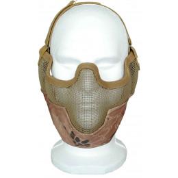 Masque de potection faciale V2 en Kryptek Mandrake