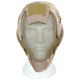 Masque de protection faciale V6 en Desert 3 couleurs