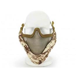 Masque de protection faciale V4 en Digital desert