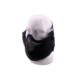 Masque de protection faciale V8 en noir