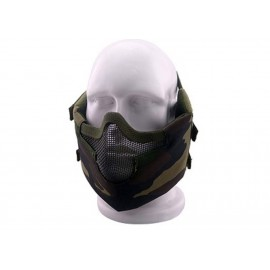 Masque de protection faciale V8 en Woodland