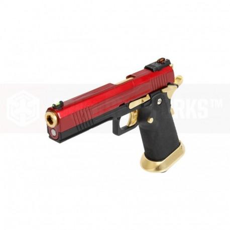AW GBB HX1004 Red/Gold split slide