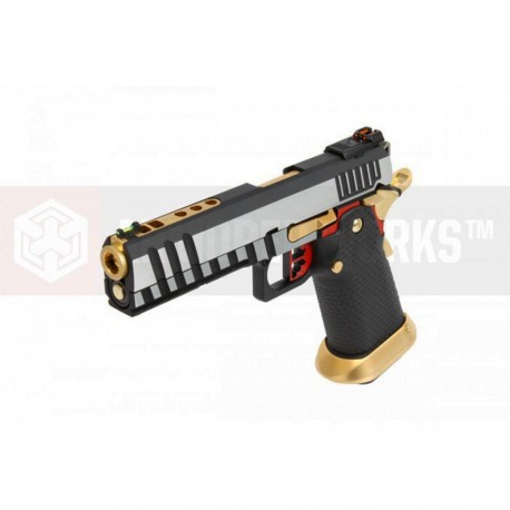 AW GBB HX2001 Black/Gold/Silver/Red full slide