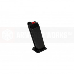 Chargeur noir AW pour réplique VX ou Glock WE / TM