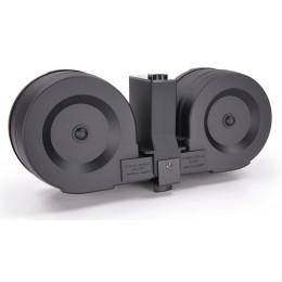 Chargeur twin drum pour M4 AEG