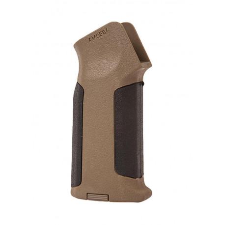 Pistol grip Amoeba type 2 en noir/dark earth