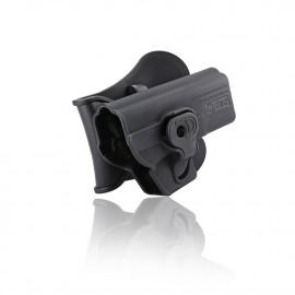 Holster polymer paddle droitier pour Glock série noir