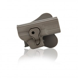 Holster polymer paddle droitier pour Glock série dark earth