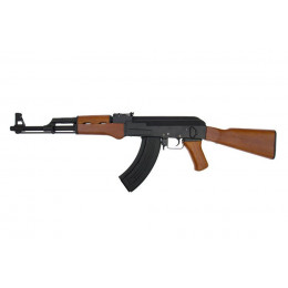 Cyma AK47 CM042 crosse pleine bois métal vue 3