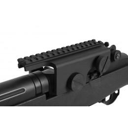 Rail pour montage de lunette pour M14