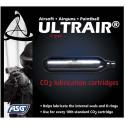 Cartouche de CO2 d'entretien et lubrifié 12gr