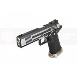 AW GBB HX1001 Silver/Black split slide