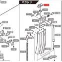 Tokyo marui lèvre supérieur de chargeur MWS