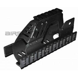 Kit garde main RAS triple rail pour P90