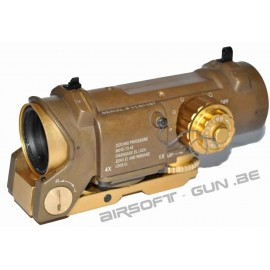 Specter Magnifier scope dot 4X Dark earth