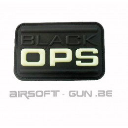 PATCH VELCRO BLACK OPS