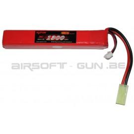 Lipo Kt 11.1V 20C 1300mah type baton