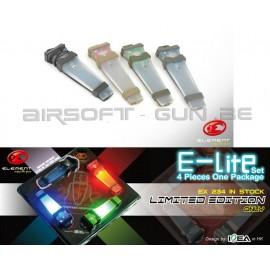 Element lampe E-Lite SET 4 pièces