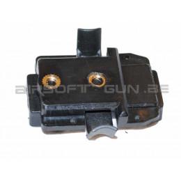 FMA adaptateur pour lampe X300 sur ARC de casque Black