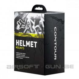 Contour fixation Casque Pack helmet mounts