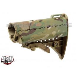 G&P crosse MOD buttstock pour M4 / M16 Multicam