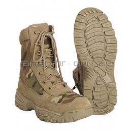 Boots tactiques Multicam ® avec fermeture éclair YKK