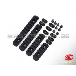 Element kit rail PTS MOE polymer noir